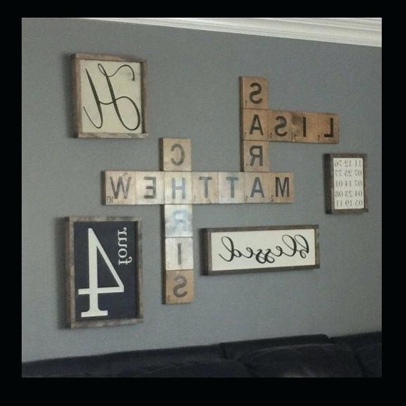 Personalized Last Name Wall Art In Well Liked Wall Decoration (View 11 of 15)