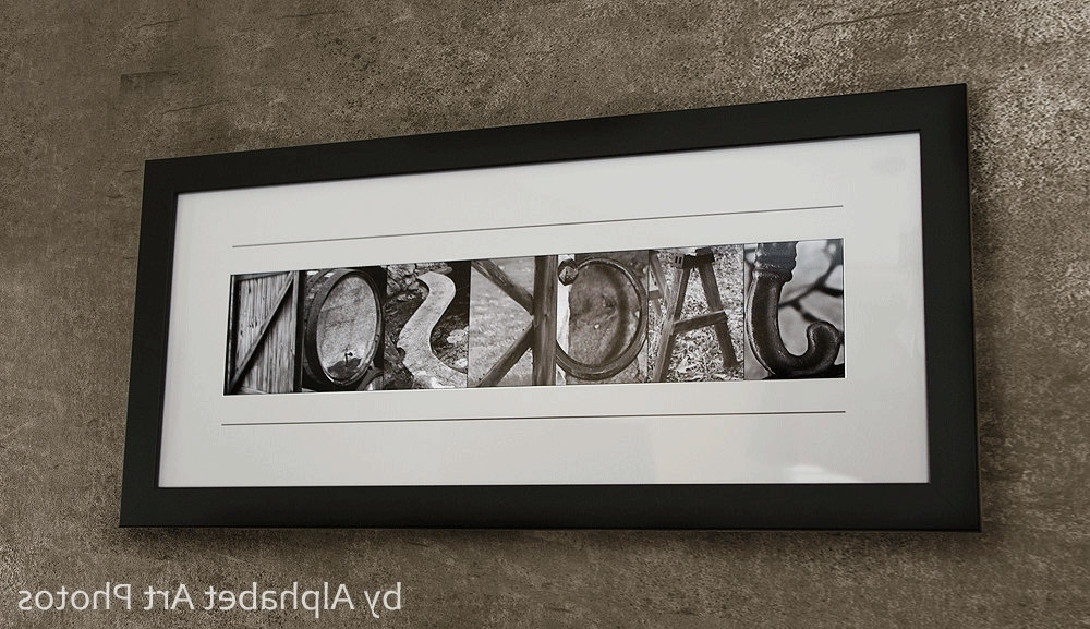 Featured Photo of Last Name Wall Art