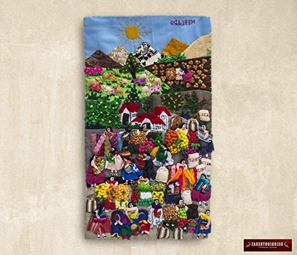 Peruvian Wall Art For Current Amazon: Quilted Wall Hangings (View 3 of 15)