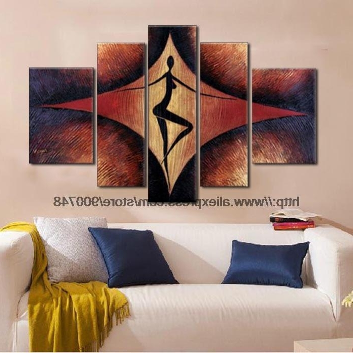 Piece Large Modern Wall Art African American Art Large Wall Art High Pertaining To Most Popular Large Modern Wall Art (View 7 of 15)