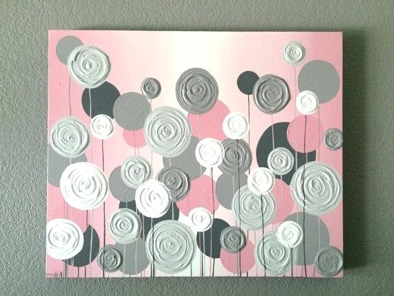 Pink And Grey Wall Art Mustard And Grey Wall Art Uk – Dannyjbixby With Regard To Most Recent Pink And Grey Wall Art (View 10 of 15)