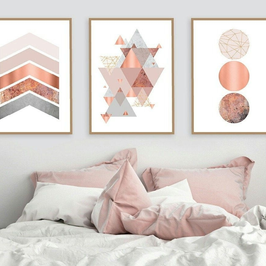 Pink And Grey Wall Art Regarding Well Known Urbanepiphanyprints Shared A New Photo On (View 12 of 15)