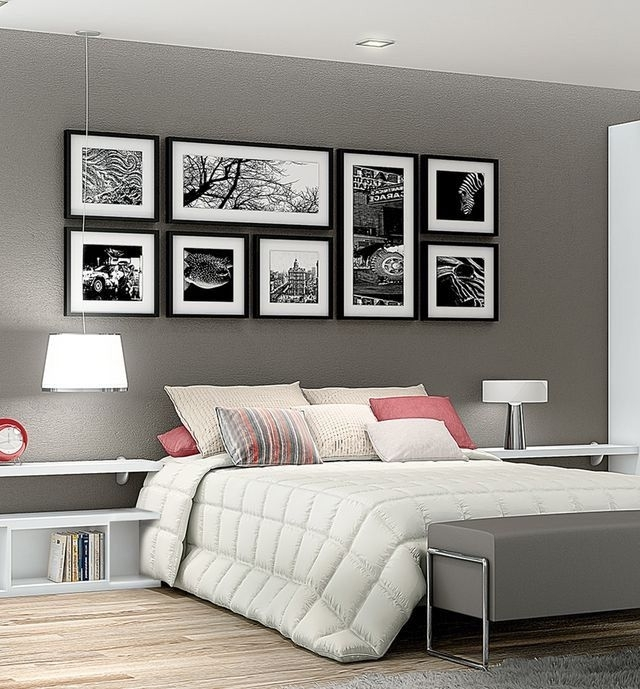 Pinte… For Most Up To Date Bed Wall Art (View 2 of 15)