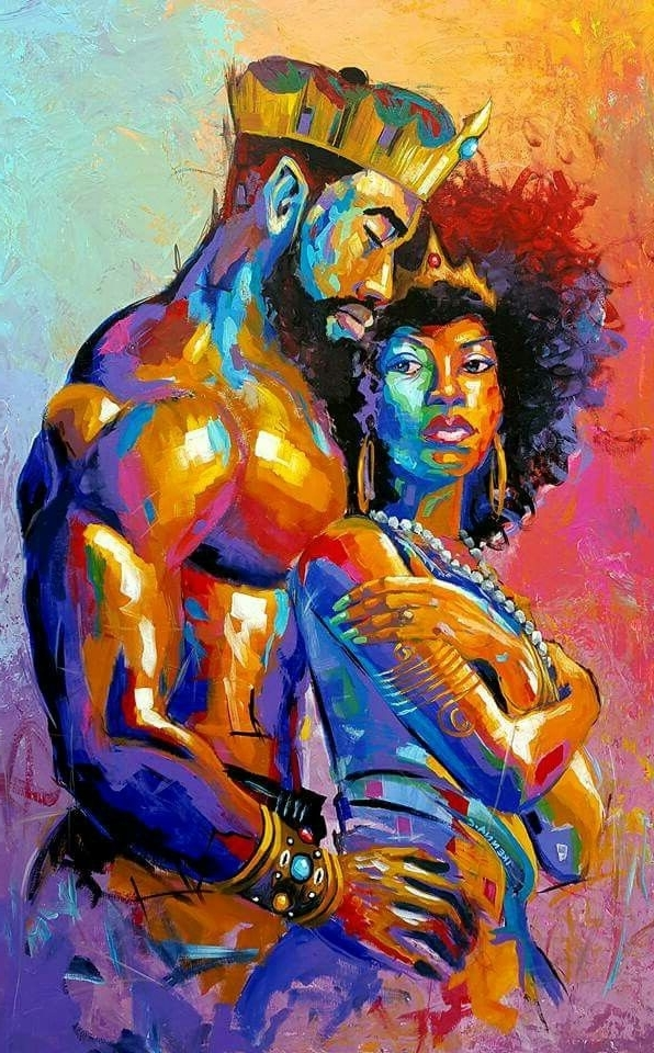 Featured Photo of Black Love Wall Art