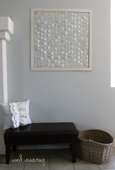Featured Photo of Capiz Shell Wall Art