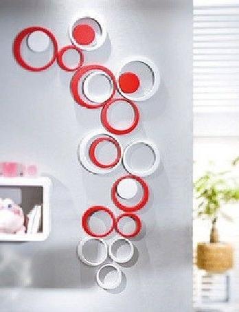 Pinterest Inside Current Circles 3D Wall Art (View 4 of 15)