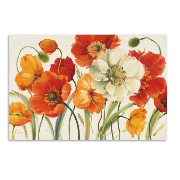 Plant & Floral Wall Art Intended For Widely Used Floral & Plant Wall Art (View 9 of 15)