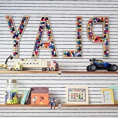 Playroom Wall Art Throughout Well Liked Pinproject Nursery On Playroom Inspiration (View 6 of 15)