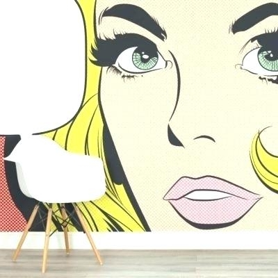 Pop Art Wallpaper Pop Art Wallpaper For Walls Pop Art Wallpaper Wall Regarding 2018 Pop Art Wallpaper For Walls (View 9 of 15)