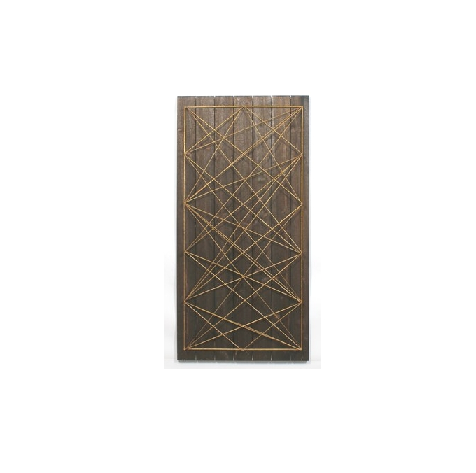 Popular 3D Triangle Wall Art Intended For Mulit 3D Triangle Wall Art – Greens Galore (View 15 of 15)