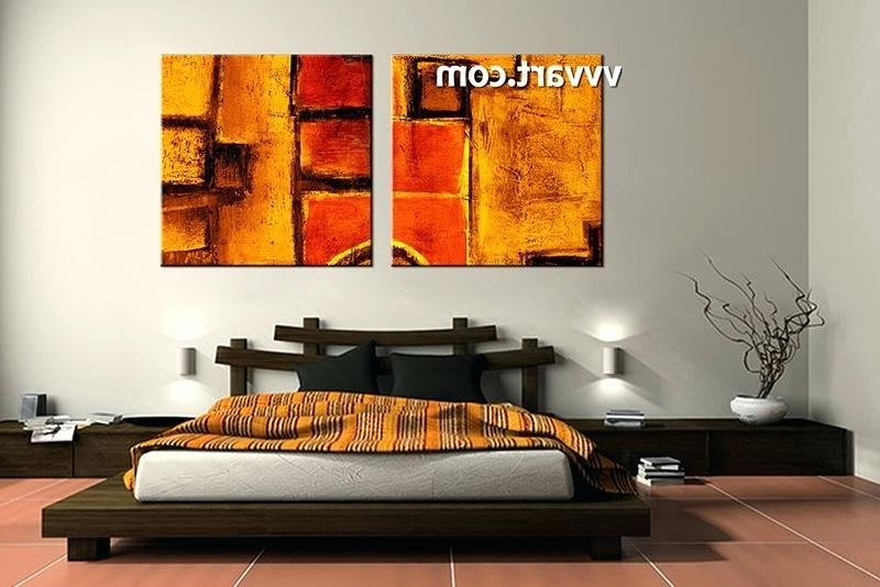 Popular Abstract Canvas Art Wall Arts Large Abstract Canvas Wall Art Large Regarding Melbourne Abstract Wall Art (View 14 of 15)