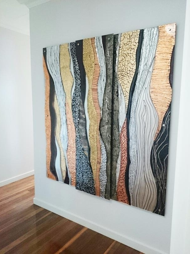 Popular Abstract Wall Art Australia in Glass Art Gallery Gold Coast Australia Glass Xpressions For Abstract