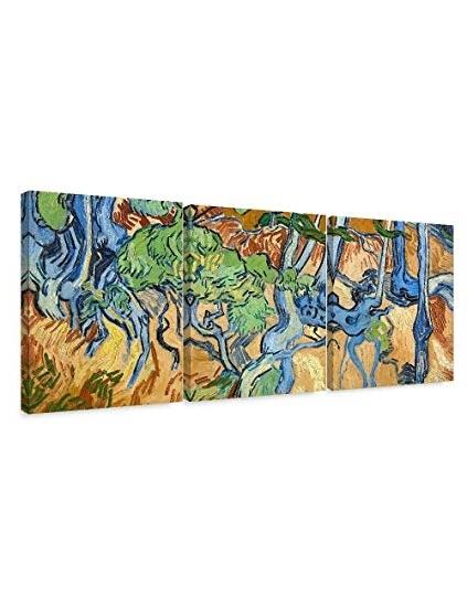 Popular Amazon: Decorarts – Tree Roots (3 Piece Set), Vincent Van Gogh Within Vincent Van Gogh Multi Piece Wall Art (View 10 of 15)