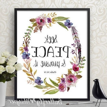 Popular Bible Verses Framed Art With Best Scripture Verse Products On Wanelo Brilliant Bible Framed Art (View 13 of 15)
