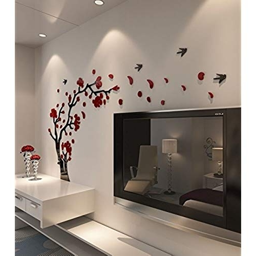 Popular Blossom White 3D Wall Art For 3D Wall Decor: Amazon (View 9 of 15)