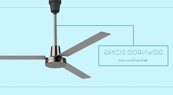 Popular Ceiling Fan Downrod Length & Extension Rod Selection Guide & Height Regarding Outdoor Ceiling Fans With Downrod (View 6 of 15)