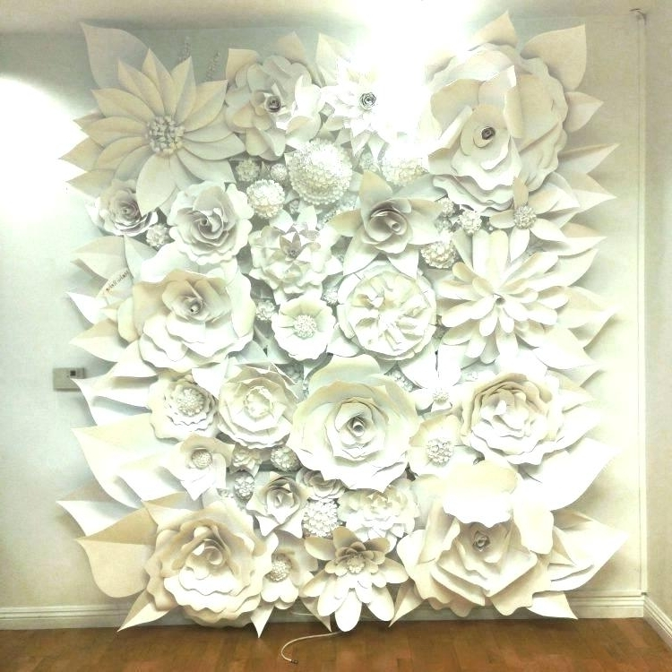 Popular Ceramic Flower Wall Decor Ceramic Wall Art White Ceramic Wall Art Throughout Large Ceramic Wall Art (View 2 of 15)