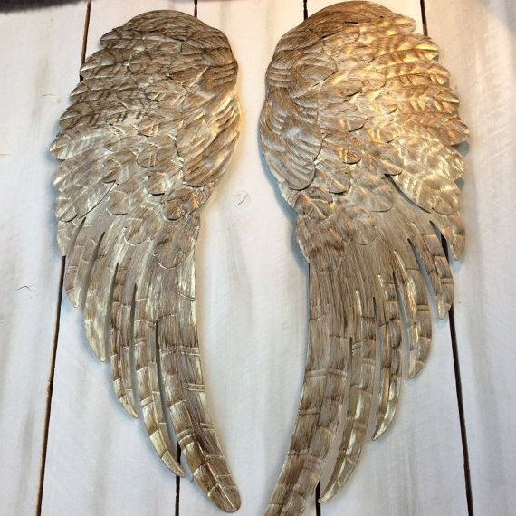Popular Dazzling Design Inspiration Angel Wings Wall Art Home Remodel Fancy For Angel Wings Sculpture Plaque Wall Art (View 2 of 15)