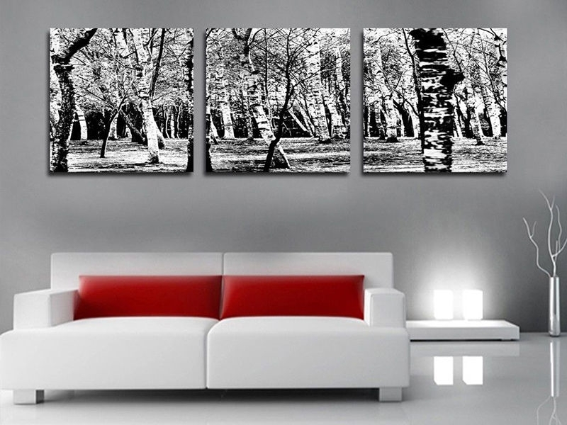 Popular Glamorous Black And White Large Canvas Prints For Your Black And With Large White Wall Art (View 15 of 15)