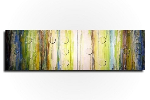 Popular Green And Brown Wall Art – Elitflat Inside Large Green Wall Art (View 11 of 15)