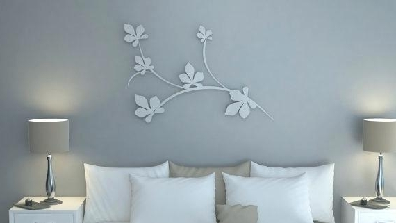 Popular Italian Metal Wall Art Intended For Italian Metal Wall Art Modern Design Wall Art In Aluminum Lotus (View 2 of 15)