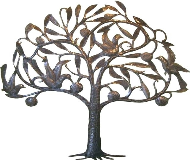 Popular Kohls Metal Tree Wall Art Intended For Kohls Metal Tree Wall Art Willow Breeze Tree Metal Wall Art (View 9 of 15)