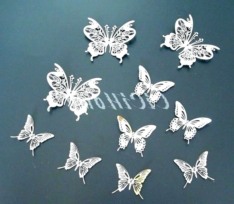 Popular Large Metal Butterfly Wall Art In Metal Butterfly Wall Art Garden Metal Wall Art Butterfly Metal (View 9 of 15)