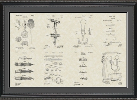 Popular Medical Wall Art Intended For 14 Medical Wall Art, Skeleton Flowers Anatomy Print Modern Wall Art (View 7 of 15)
