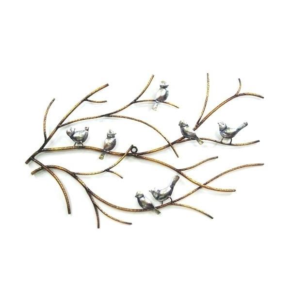 Popular Metal Wall Art Birds Bird Metal Wall Art 7 Ideas Design Branch Trees In Flock Of Birds Metal Wall Art (View 15 of 15)