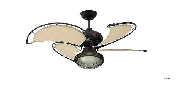 Popular Nautical Ceiling Fans Ceiling Fan Nautical Themed Ceiling Fans Within Nautical Outdoor Ceiling Fans With Lights (View 11 of 15)