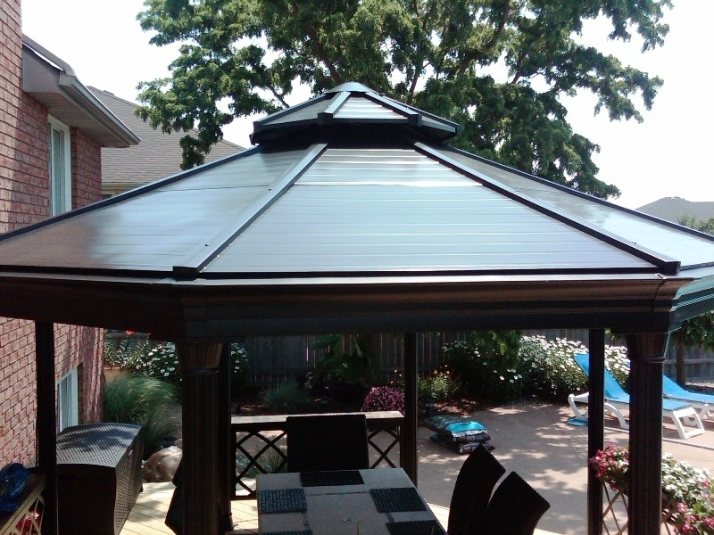 Popular Outdoor Ceiling Fans For Gazebos For Gazebo Outdoor Patio Ceiling Fans : Joinipe Ceiling – Enjoy Outdoor (View 4 of 15)
