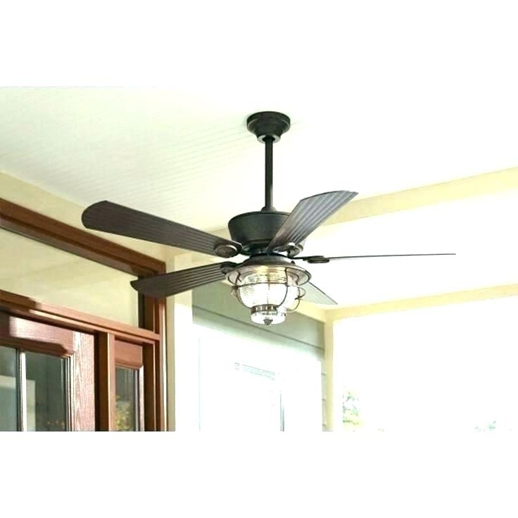 Popular Outdoor Ceiling Fans With Remote And Light With Regard To Low Profile Outdoor Ceiling Fans Inspiring Fan Without Light (View 11 of 15)