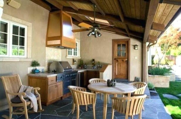 Popular Outdoor Patio Ceiling Fans Porch Ceiling Fans Outdoors Ceiling Fans Pertaining To Outdoor Ceiling Fans For Porches (View 10 of 15)