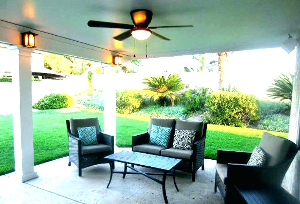 Popular Outdoor Patio Ceiling Fans With Lights In Porch Ceiling Fans Outdoor Patio Ceiling Fans Creative Patio Ceiling (View 9 of 15)