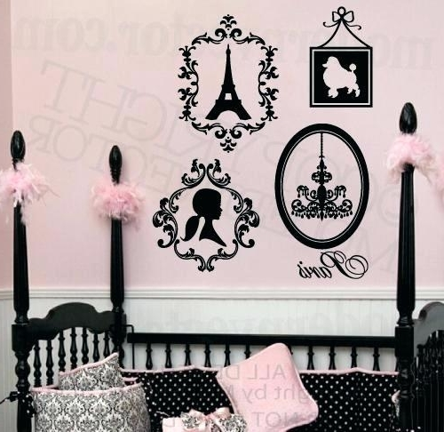Popular Paris Wall Decals Tower Wall Decals Paris Wall Decals Amazon – Hekj Within Paris Theme Wall Art (View 8 of 15)