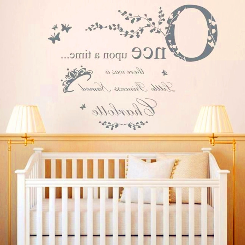 Popular Personalized Nursery Decor – Noakijewelry In Personalized Nursery Wall Art (View 11 of 15)