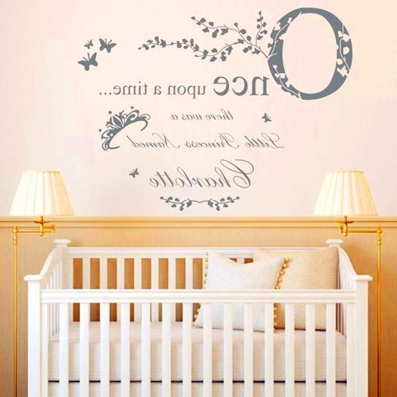Popular Personalized Nursery Decor – Noakijewelry In Personalized Nursery Wall Art (View 4 of 15)