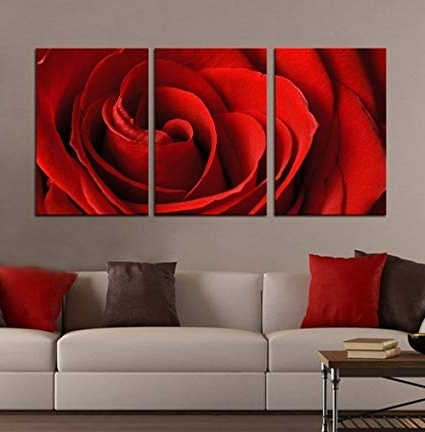 Featured Photo of Red Rose Wall Art