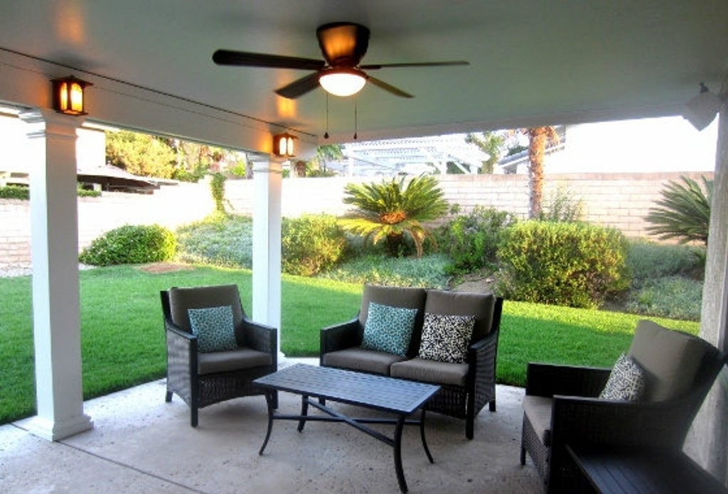 Popular Simple Contemporary Outdoor Ceiling Fans With Light Style The Most For Outdoor Ceiling Fans And Lights (View 13 of 15)