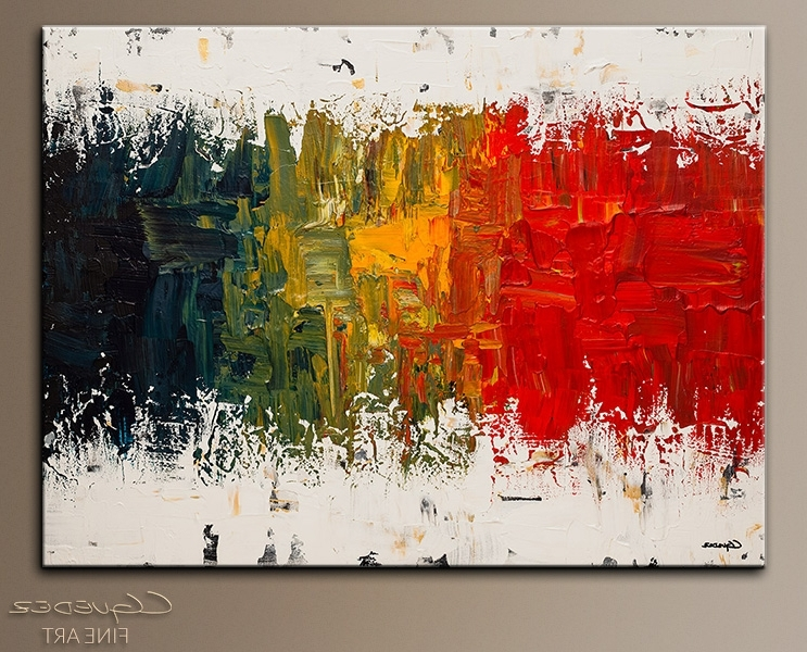 Popular Spectrum Abstract Art Wall Paintings For Sale Modern Within Designs For Modern Abstract Wall Art (View 11 of 15)