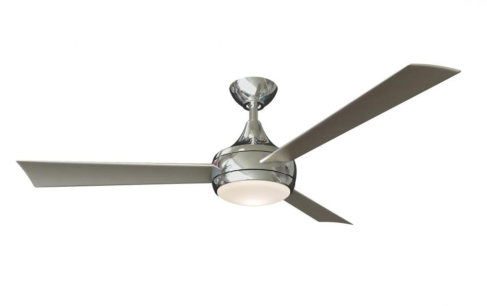 Popular Stainless Steel Outdoor Ceiling Fans With Light In Donaire Wet Location 3 Blade Paddle Style Fan Constructed Of  (View 5 of 15)