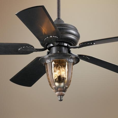 Popular Vintage Outdoor Ceiling Fans With Regard To Outdoor Ceiling Fans With Light Lighting Wonderful Lights Golfocd (View 4 of 15)