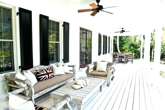Porch Ceiling Fans Best Patio Ceiling Fans Classic Terraces With For 2017 Outdoor Porch Ceiling Fans With Lights (View 3 of 15)