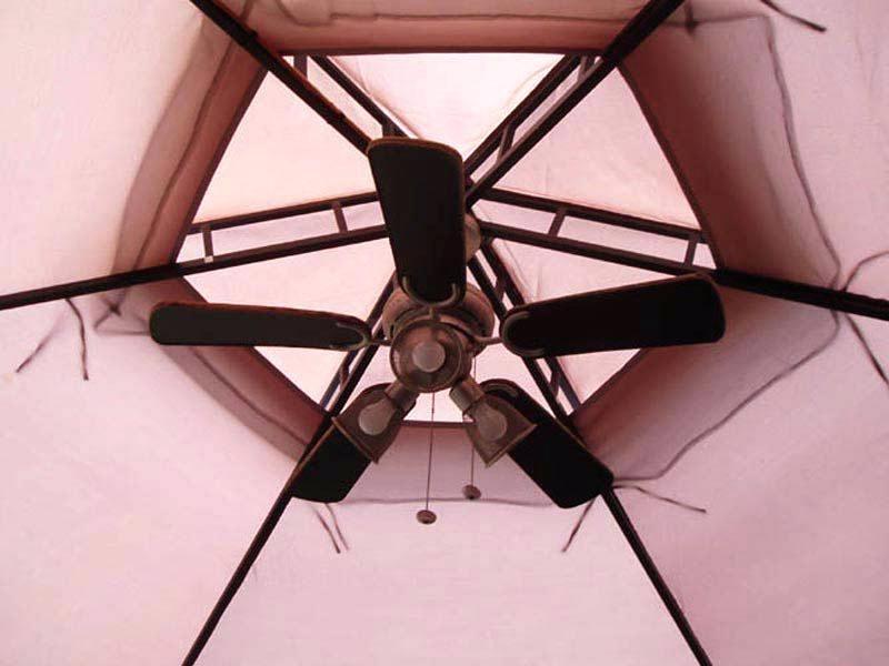 Portable Outdoor Ceiling Fans Regarding Recent Portable Gazebo Ceiling Fan Outdoor Plug In For Fans – Hitmangear (View 3 of 15)
