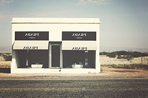 Prada Marfa Wall Art Within Most Recent Amazon: Prada Marfa Art, Marfa Texas Photography, Prada Marfa (View 3 of 15)