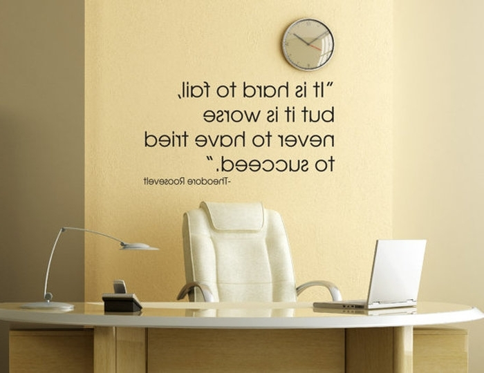 Preferred 3. Theodore Roosevelt Quote Wall Decal Officedavisvinyldesigns in Inspirational Wall Decals For Office