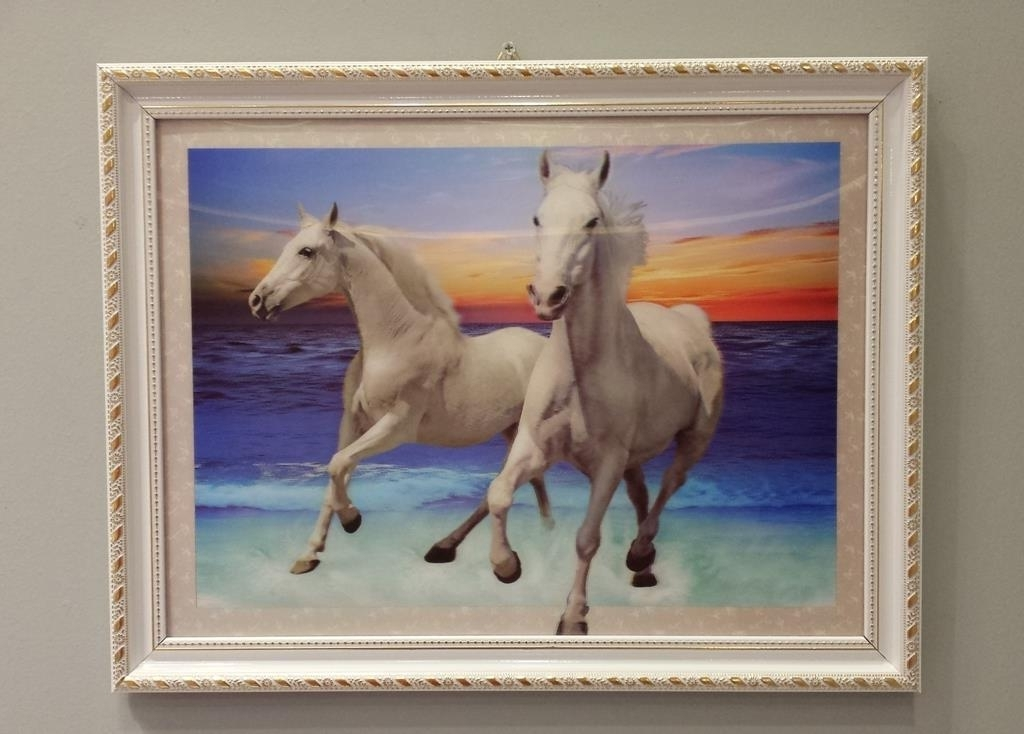 Preferred 3D Horse Wall Art Within 3D Horse Painting Wall Decor (ཞ (End 3/17/2019 7:15 Pm) (View 14 of 15)