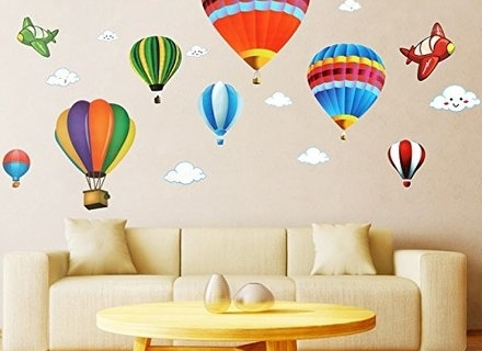 Preferred 44 Hot Air Balloon Wall Art, Hot Air Balloon Wall Art Just Between With Air Balloon 3D Wall Art (View 12 of 15)