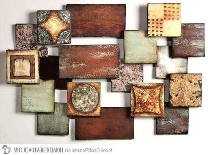 Preferred Abstract Iron Wall Art Regarding  (View 11 of 15)