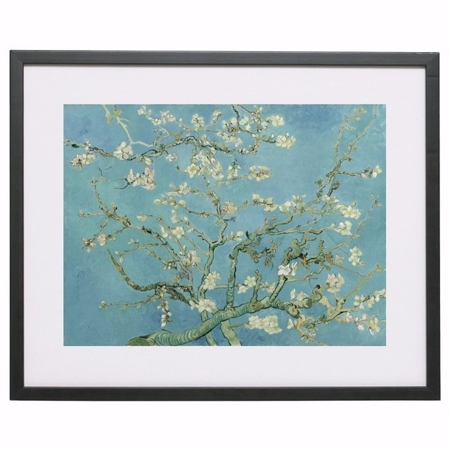 Preferred Almond Blossoms Vincent Van Gogh Wall Art With Regard To Van Gogh Almond Blossom 1890 Canvas Art Print Painting Poster Wall (View 11 of 15)